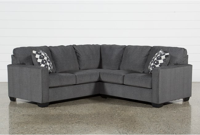 "Turdur 2 Piece 92"" Sectional With Right Arm Facing Loveseat - 360"