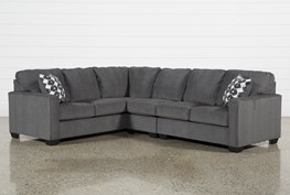 Turdur 3 Piece Sectional W/Raf Loveseat