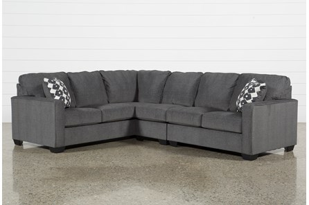 Turdur 3 Piece Sectional with Right Arm Facing Loveseat