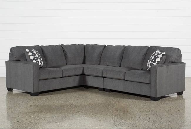 Turdur 3 Piece Sectional With Right Arm Facing Loveseat - 360