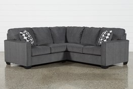 """Turdur 2 Piece 92"""" Sectional With Left Arm Facing Loveseat"""