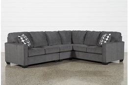 "Turdur 3 Piece 116"" Sectional With Left Arm Facing Loveseat"