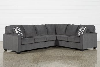 """Turdur 3 Piece 116"""" Sectional With Left Arm Facing Loveseat"""