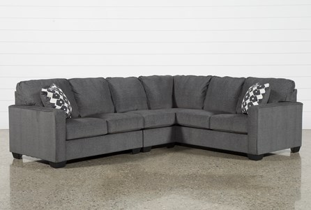 Turdur 3 Piece Sectional W/Laf Loveseat