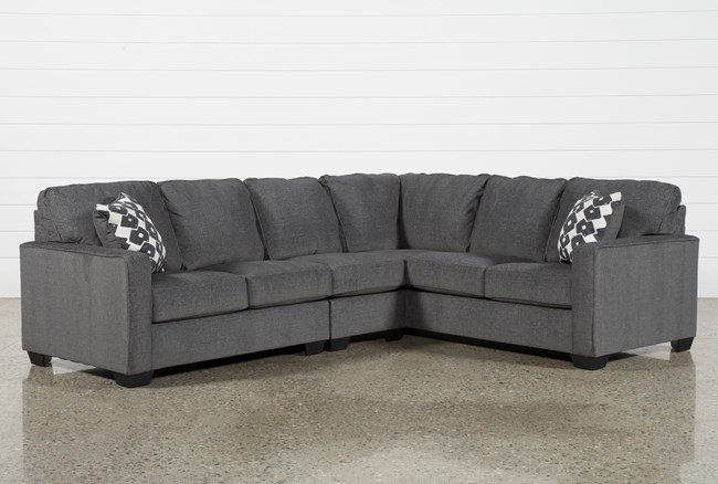 """Turdur 3 Piece 116"""" Sectional With Left Arm Facing Loveseat - 360"""