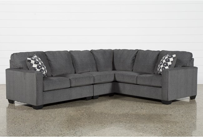 Turdur 3 Piece Sectional With Left Arm Facing Loveseat - 360