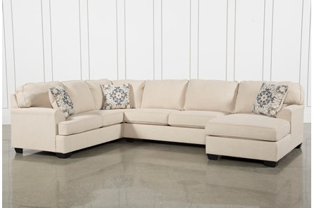 Display Product Reviews For Kit Malbry Point 3 Piece Sectional W Raf Chaise