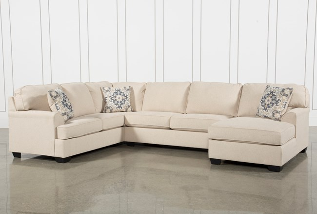 Malbry Point 3 Piece Sectional W/Raf Chaise - 360