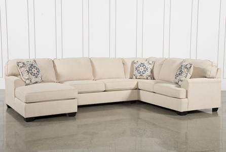 Malbry Point 3 Piece Sectional W/Laf Chaise