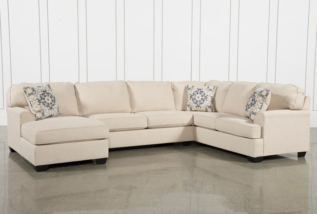 Malbry Point 3 Piece Sectional W/Laf Chaise - 360