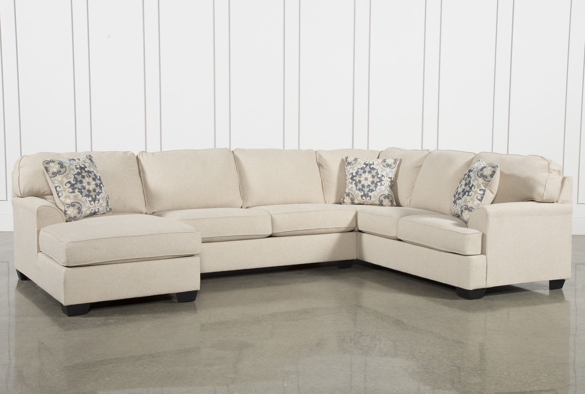 Good Display Product Reviews For KIT MALBRY POINT 3 PIECE SECTIONAL W/LAF CHAISE