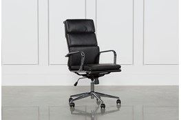 Moby Black High Back Desk Chair
