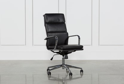 Fine Moby Black High Back Office Chair Gmtry Best Dining Table And Chair Ideas Images Gmtryco