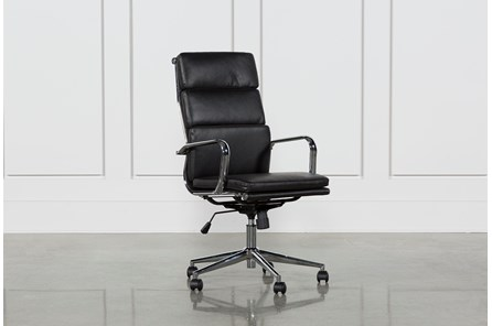 Moby Black High Back Office Chair - Main