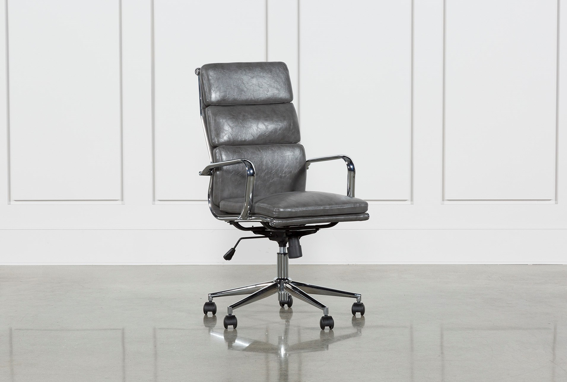 Awe Inspiring Moby Grey High Back Office Chair Dailytribune Chair Design For Home Dailytribuneorg
