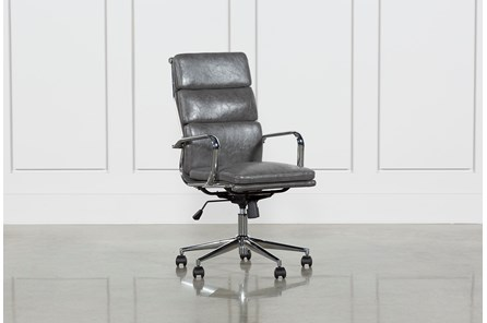 Moby Grey High Back Office Chair - Main