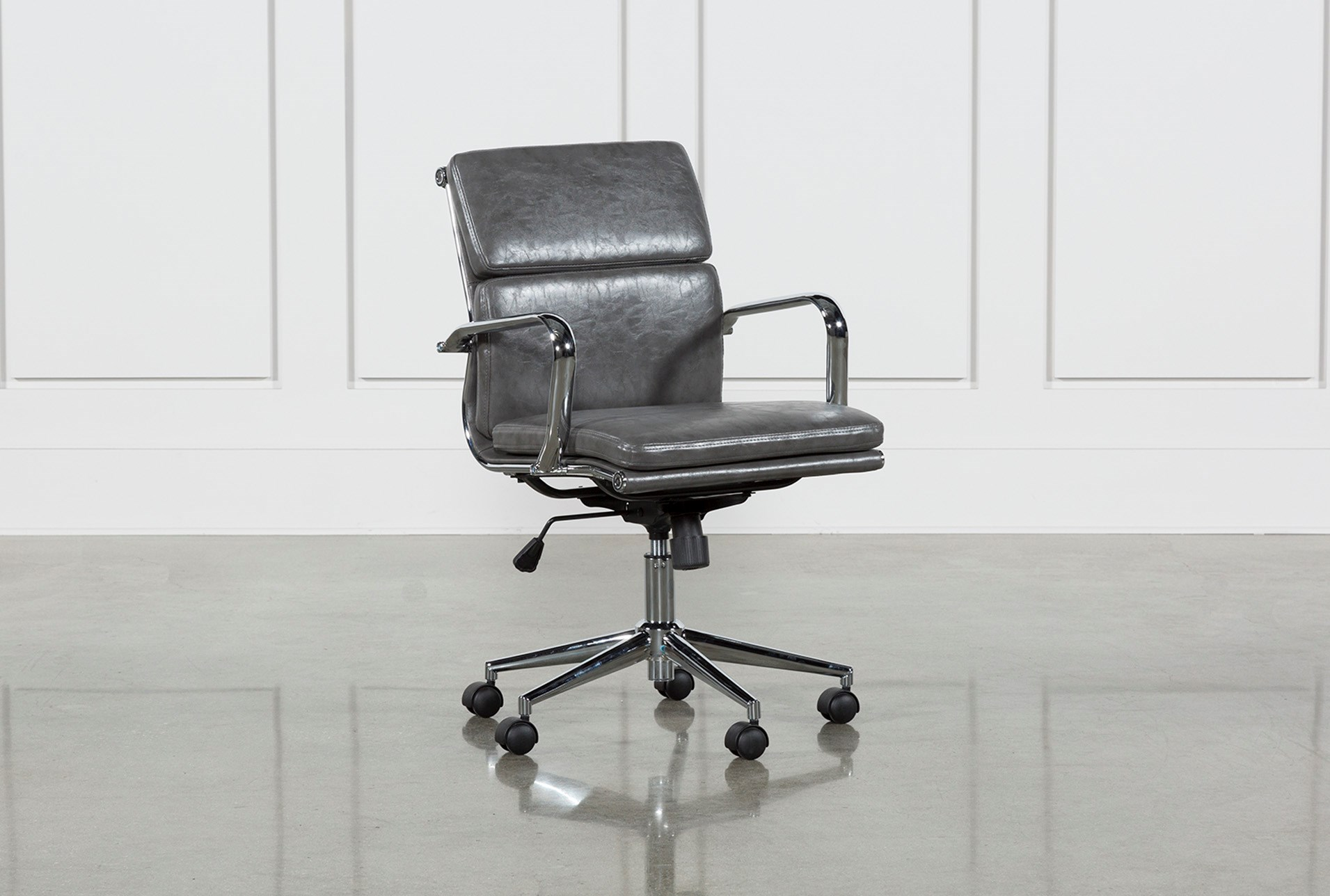 Moby Grey Low Back Office Chair Qty 1 Has Been Successfully Added To Your Cart