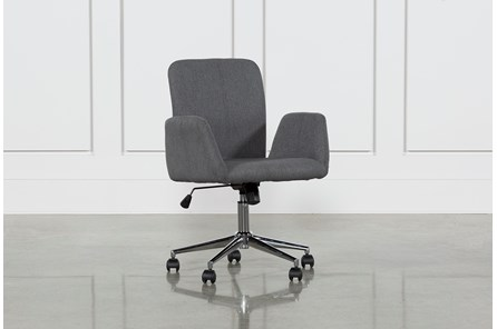Calder Dark Grey Office Chair - Main