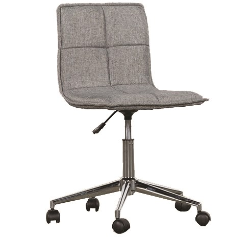 Rudy Grey Rolling Office Chair