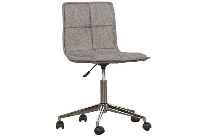 Rudy Grey Rolling Office Chair - 360