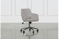 Emery Light Grey Desk Chair