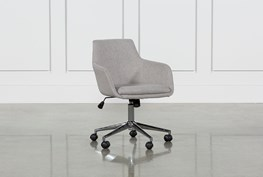 Emery Light Grey Office Chair