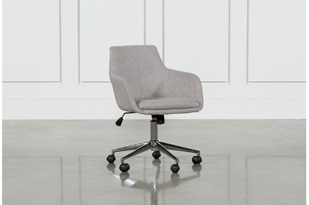 Emery Light Grey Office Chair - Main