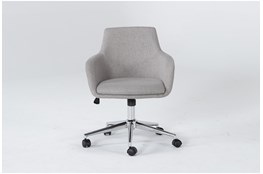 Emery Light Grey Desk Chair