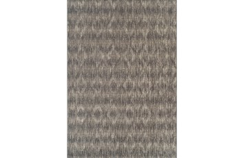 39X61 Outdoor Rug-Grey Distressed Damask