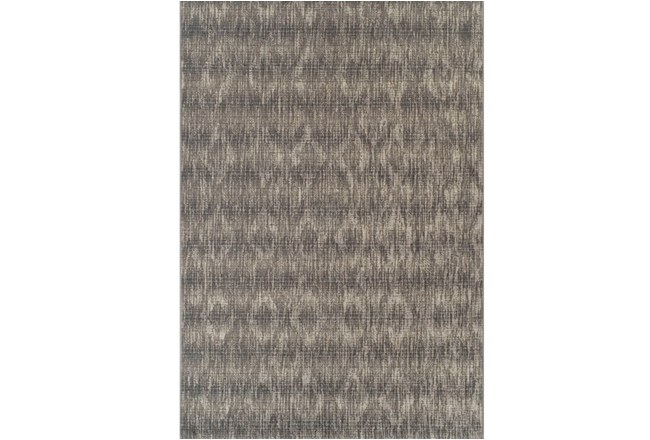 39X61 Outdoor Rug-Grey Distressed Damask - 360