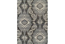 39X61 Outdoor Rug-Grey Large Ikat