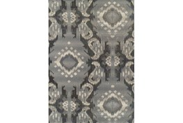 61X84 Outdoor Rug-Grey Large Ikat