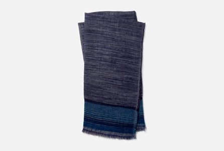 Accent Throw-Magnolia Home Alissa Navy/Teal By Joanna Gaines