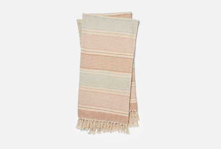 Accent Throw-Magnolia Home Anna Blush/Ivory By Joanna Gaines