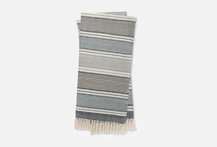 Accent Throw-Magnolia Home Anna Navy/Ivory By Joanna Gaines