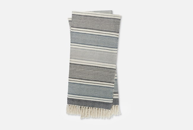 Accent Throw-Magnolia Home Anna Navy/Ivory By Joanna Gaines - 360