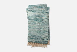 Accent Throw-Magnolia Home Bree Blue/Ivory By Joanna Gaines
