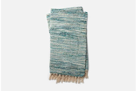 Accent Throw-Magnolia Home Bree Blue/Ivory By Joanna Gaines - Main