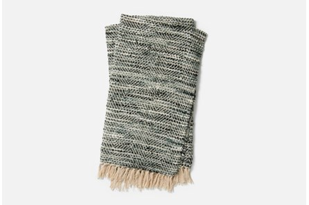 Accent Throw-Magnolia Home Bree Charcoal/Grey By Joanna Gaines