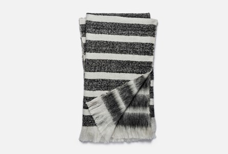 Accent Throw-Magnolia Home Duke Black/White By Joanna Gaines