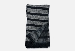 Accent Throw-Magnolia Home Duke Navy/White By Joanna Gaines