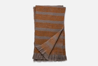 Accent Throw-Magnolia Home Duke Taupe/Orange By Joanna Gaines