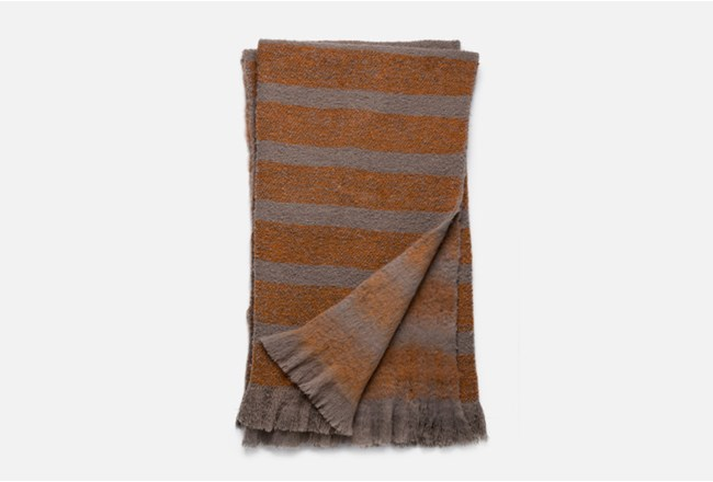 Accent Throw-Magnolia Home Duke Taupe/Orange By Joanna Gaines - 360