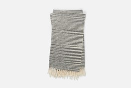 Accent Throw-Magnolia Home Jane Black/Ivory By Joanna Gaines