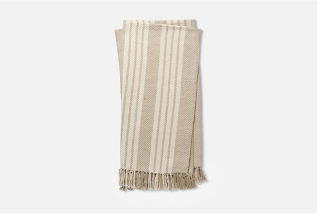 Accent Throw-Magnolia Home Lora Beige/Ivory By Joanna Gaines - 360
