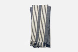 Accent Throw-Magnolia Home Lora Navy/Ivory By Joanna Gaines