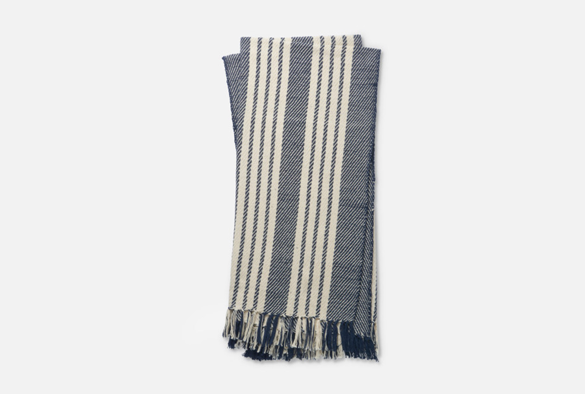 Accent Throw Magnolia Home Lora Navy/Ivory By Joanna Gaines