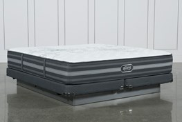 Calista Extra Firm Eastern King Mattress W/Low Profile Foundation