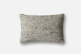 Accent Pillow-Magnolia Home Diamond Grey 13X21 By Joanna Gaines