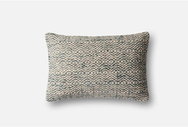 Accent Pillow-Magnolia Home Diamond Grey 13X21 By Joanna Gaines - 360